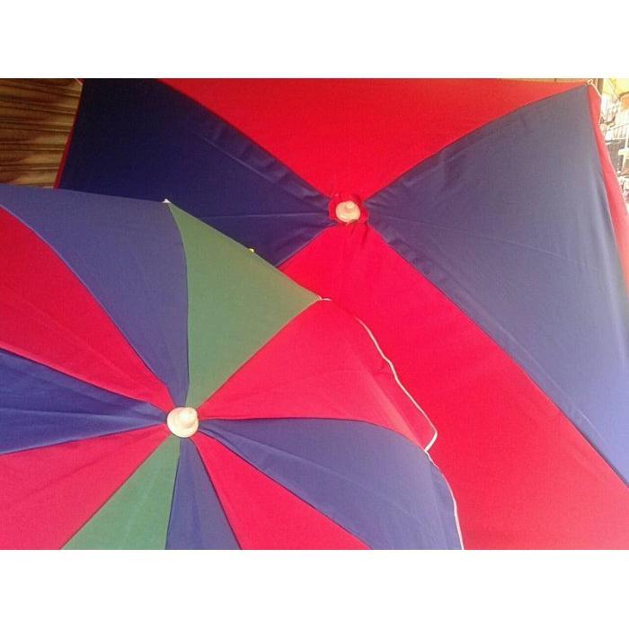 市場攤販商業大雨傘遮雨遮陽傘正方型傘攤販傘釣魚傘海灘傘太陽傘擺攤 多重送展示圖二60 方型