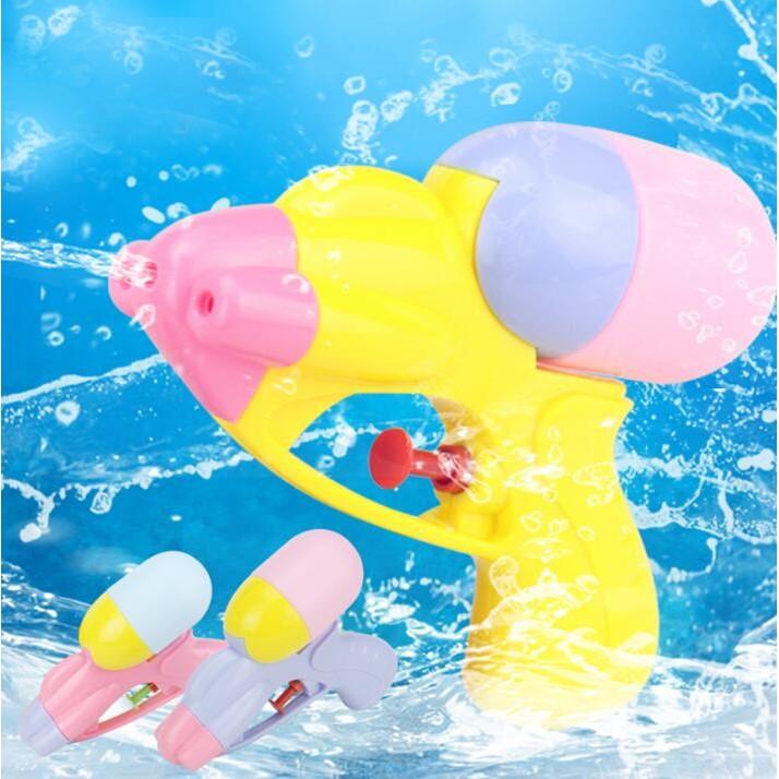 夏天小孩寶寶沙灘戲水玩具兒童迷妳小號洗澡水槍噴水玩具槍嬰兒