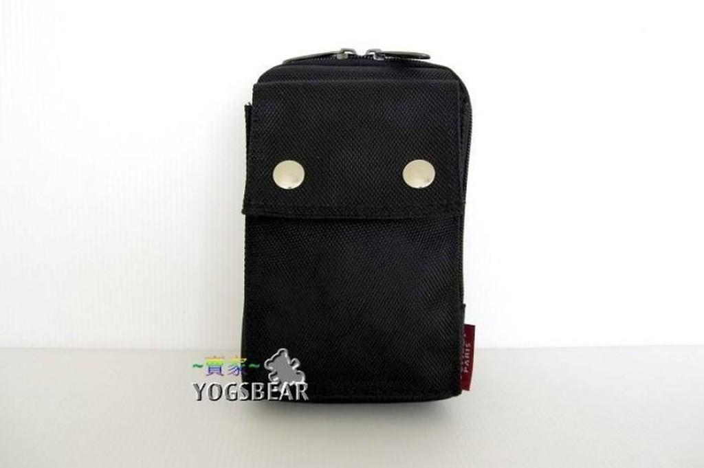 ~YOGSBEAR ~防水6 吋直立式手機袋掛包腰包手機包腿包工具包護照包907231 黑