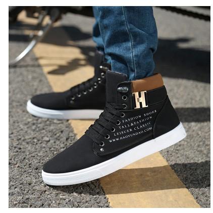 保暖馬丁靴男英倫風短靴子潮流工裝靴復古 馬丁鞋高幫男靴
