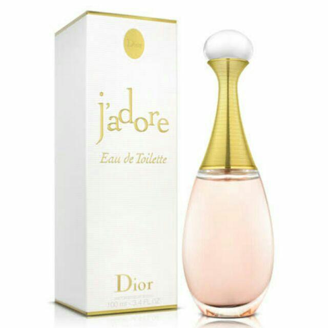 Dior 迪奧j 'adore 真我宣言女性淡香精淡香水100ml