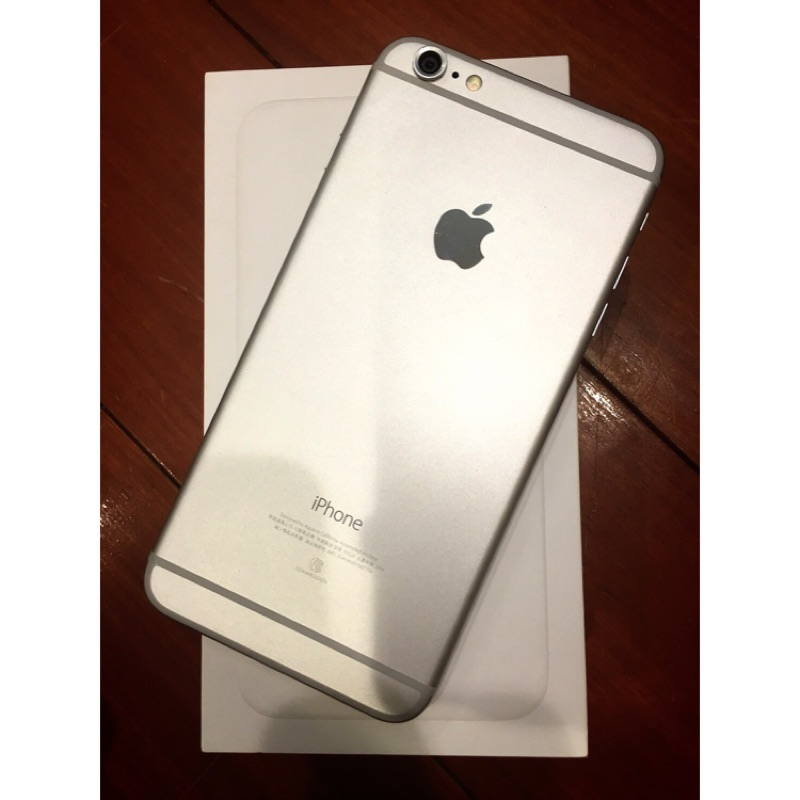iPhone 6 plus 銀色64g 5 5 寸 中古機