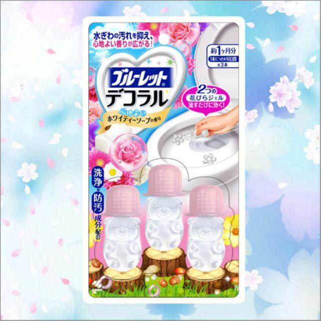 國內限定版小林製藥馬桶用消臭凝膠白色皂香