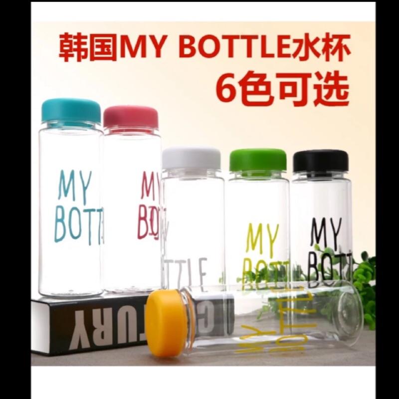 my bottle 玻璃水瓶高硼砂玻璃水杯附杯套盒子500ml