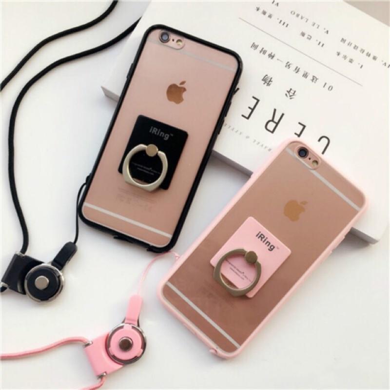 新增i7 !新色上市! 三合一! 純色掛繩手機殼iPhone 6 6s 6plus 7 7