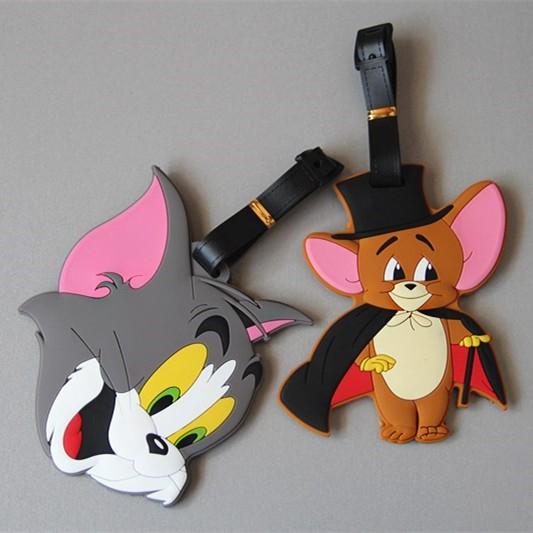 Cartoon network 湯姆貓與傑利鼠TOM JERRY 可愛卡通行李牌行李 行李