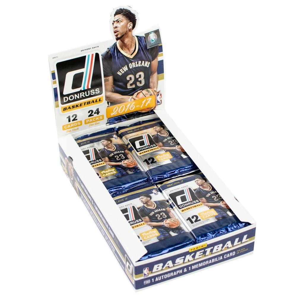 2016 17 Panini Donruss NBA 美國職籃籃球卡卡包卡盒 未拆封Hob