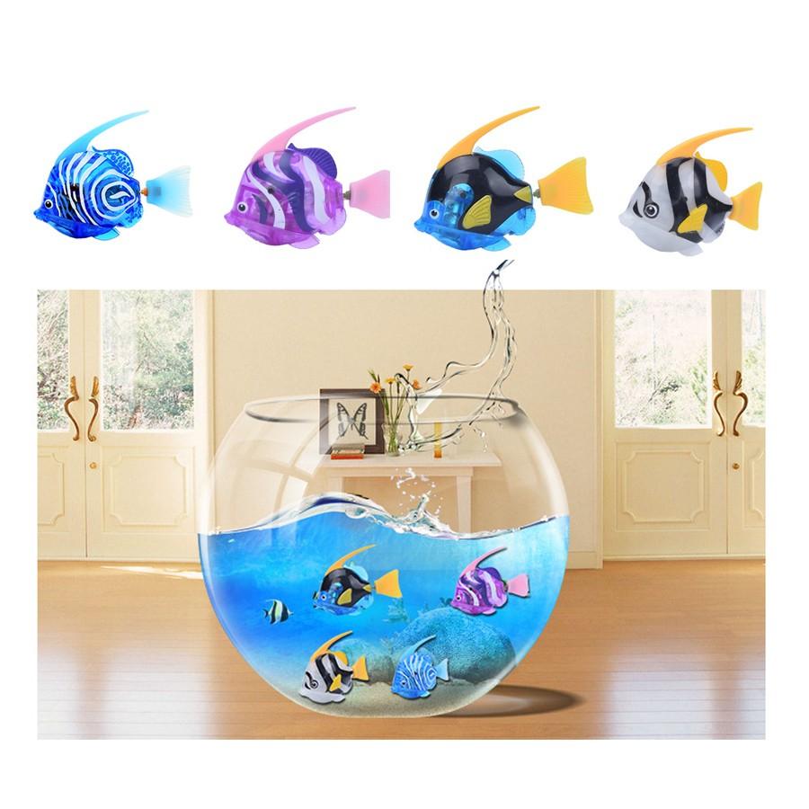電動魚電子魚Robo Fish 歡樂寵物魚樂寶魚會動的魚洗澡玩具生日