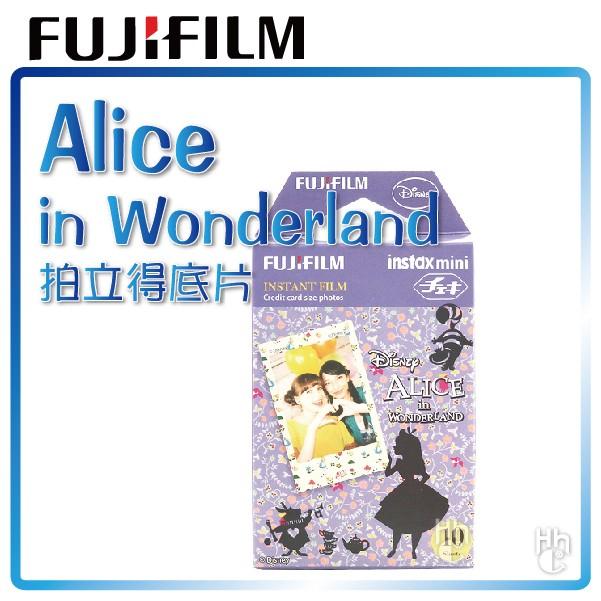 ~和信嘉~拍立得迪士尼愛麗絲夢遊仙境底片Disney Alice 富士FUJIFILM i