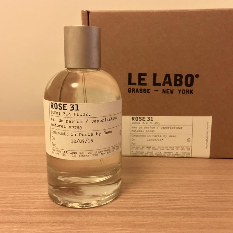 LE LABO ROSE31 100ml 紐約高端香水品牌