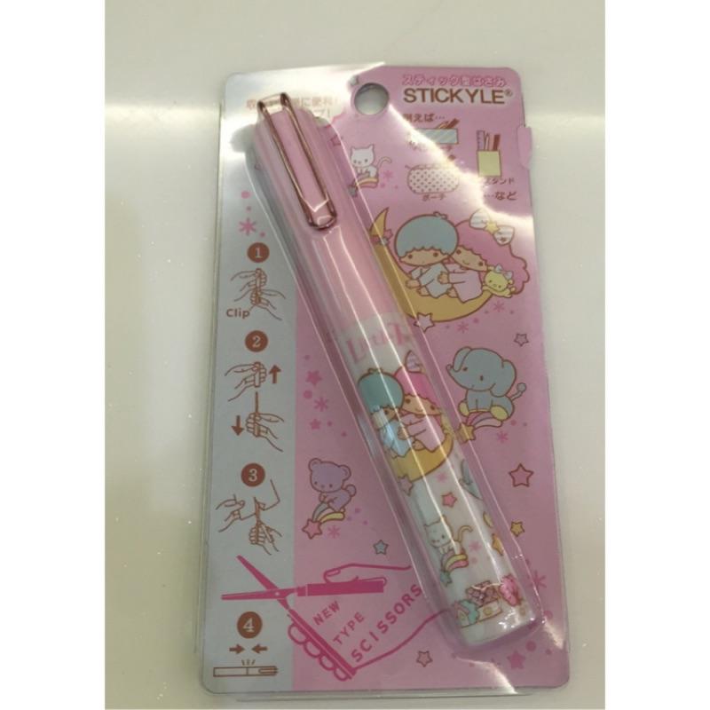 ~NaNa 專賣~Sanrio 三麗鷗攜帶式剪刀(雙子星、KT 、蛋黃哥、美樂蒂)