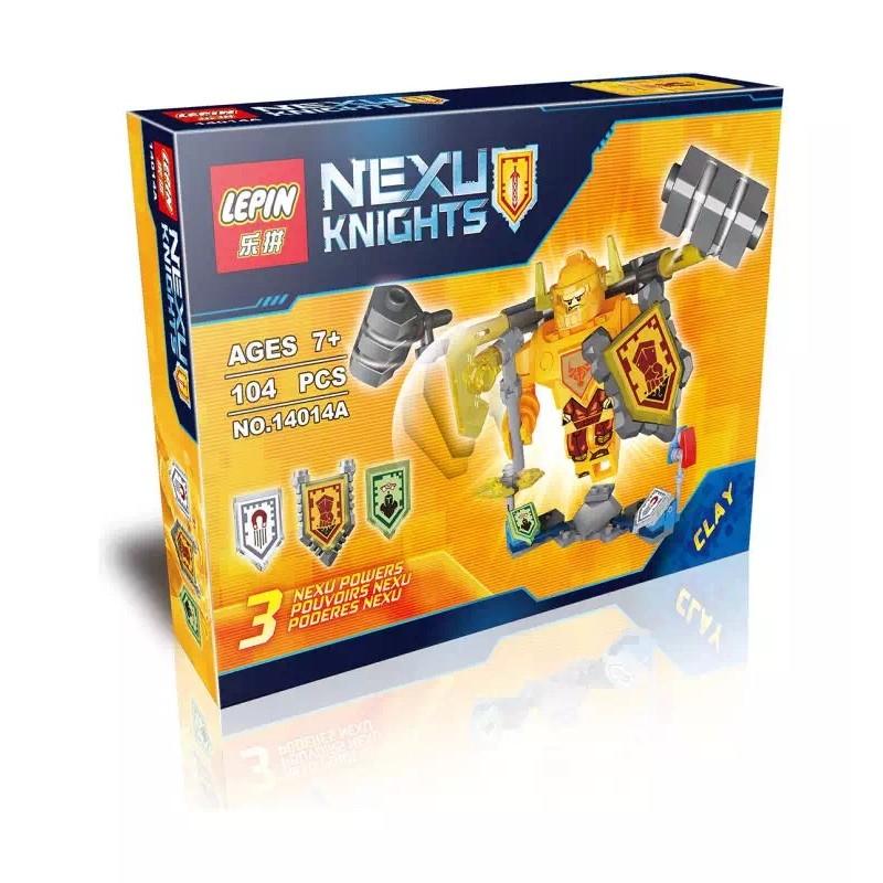 磚塊積木樂拼14014A 的艾克索未來騎士團NEXO 相容LEGO 非樂高70336