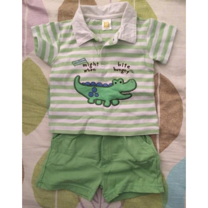 Carter 卡特小鱷魚polo 套裝