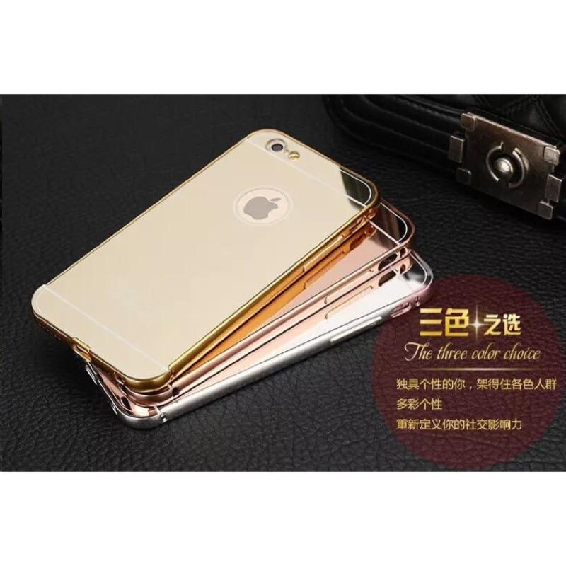 ~電鍍鋁合金金屬邊框鏡面背板~iphone 7 7S i7 i7S 6 6S PLUS i