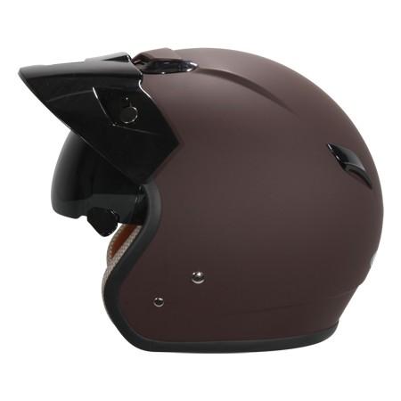 ZEUS zs 381c 彈性咖啡~專利級內藏式遮陽鏡片~送外側長鏡片