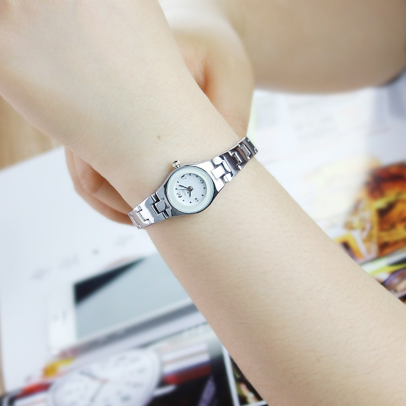 〖 衣櫃〗石英錶小錶盤女錶潮流 女生手錶女式防水