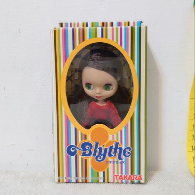 Blythe 碧麗絲 小小布 紅玫瑰 Rose PBL-03 Petite TAKARA Hasbro 絕版