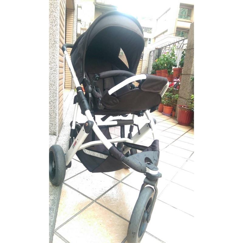 范范黑人代言ABC Design cobra 高景觀三輪嬰兒車