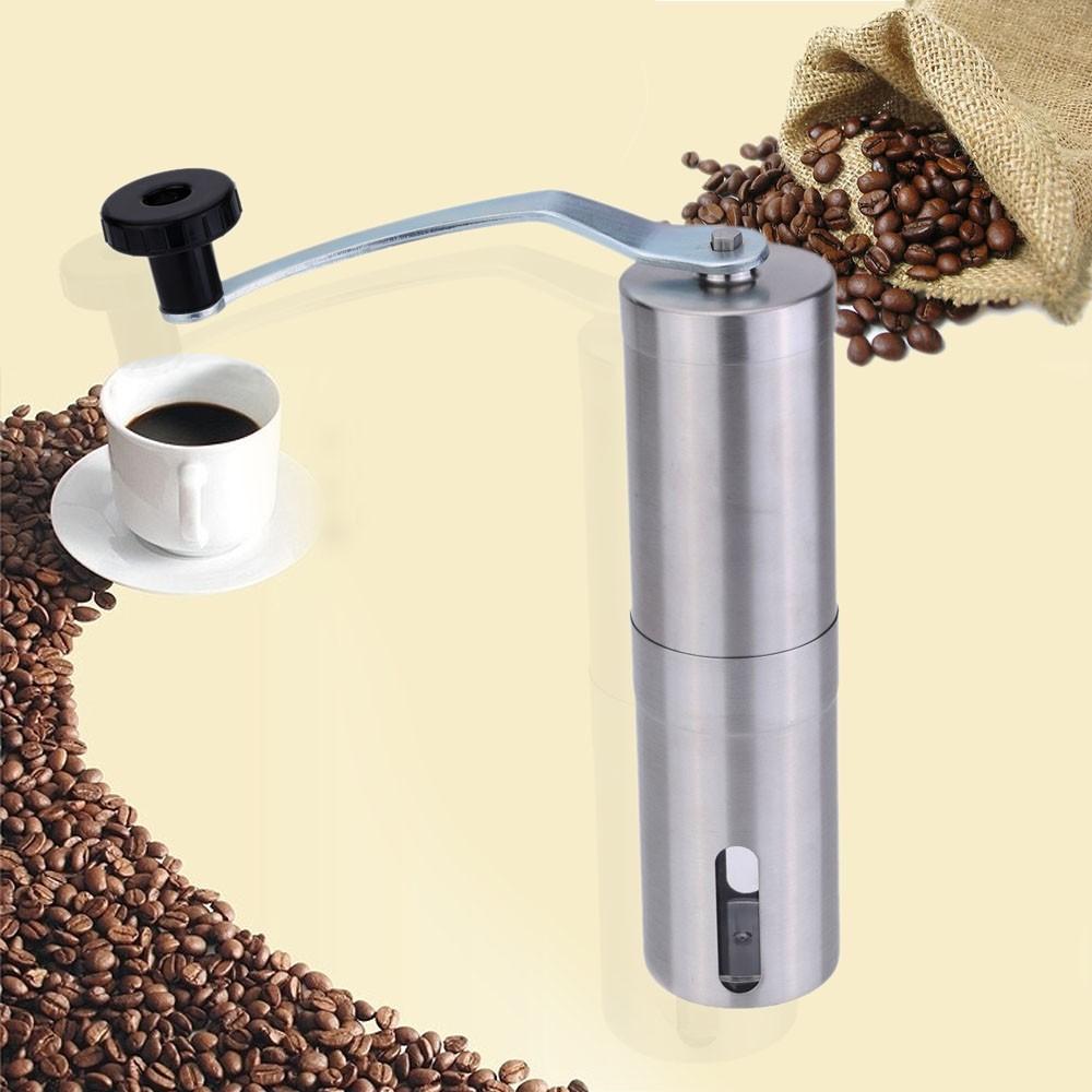 ~咖啡愛好者 ~不鏽鋼手搖磨豆機手搖咖啡豆研磨機手動研磨器磨粉機