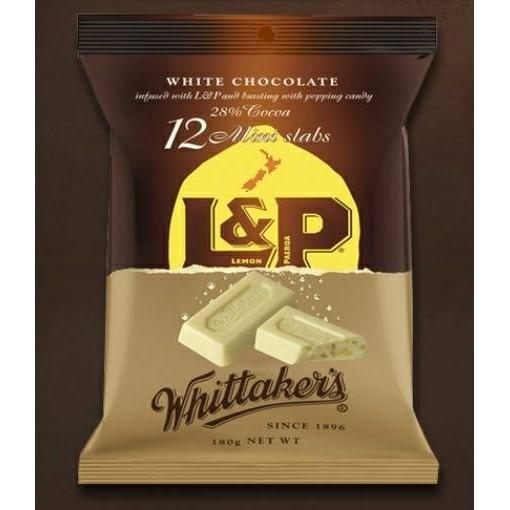紐西蘭連線Whittaker s 紐西蘭L P 跳跳汽水白巧克力180g
