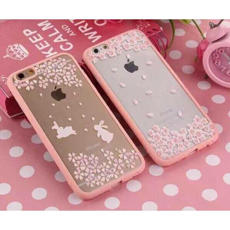 iphone5 5s se 浪漫少女櫻花系列iphone5 手機殼櫻花軟殼iphone5s