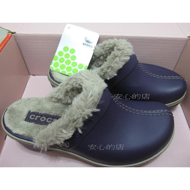 正品Crocs 卡駱馳女士匠心暖棉克駱格W6 保暖涼鞋保暖拖鞋