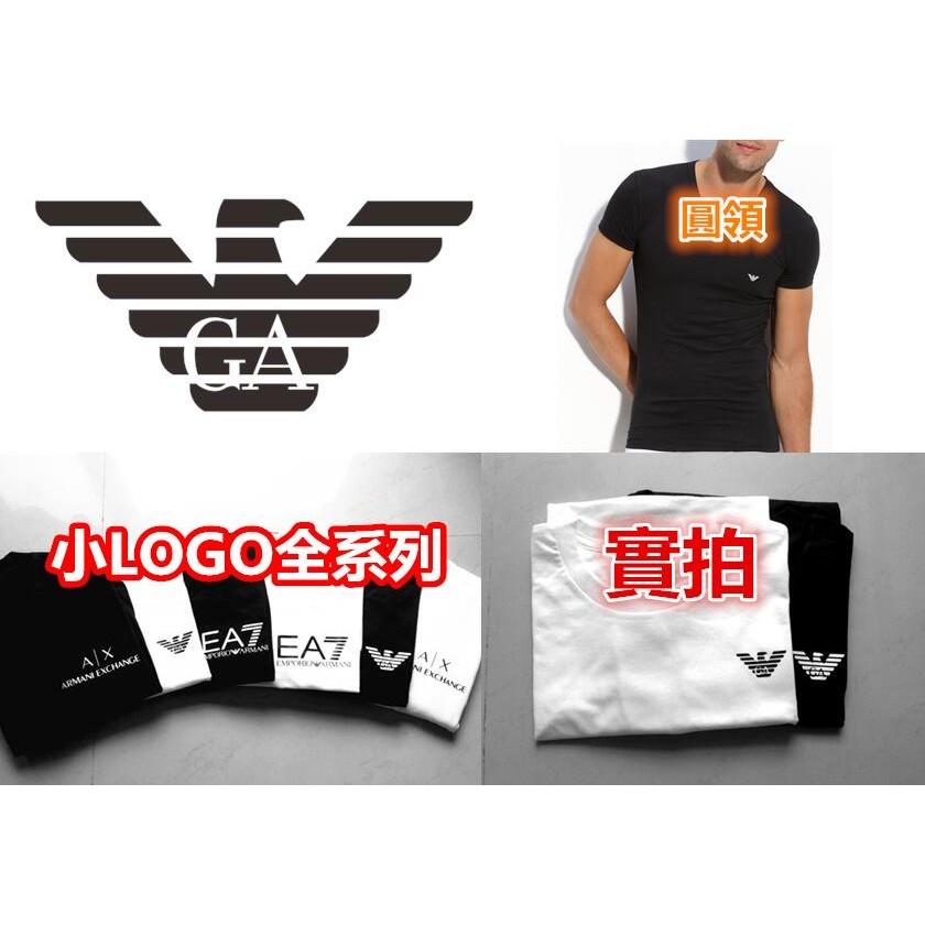 Armani Exchange AX 亞曼尼A X EA7 GA 情侶T 短T 男裝女裝字