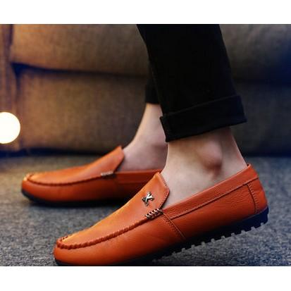 2016 年 豆豆鞋男士 休閒皮鞋一腳蹬懶人鞋子青年英倫潮流男鞋