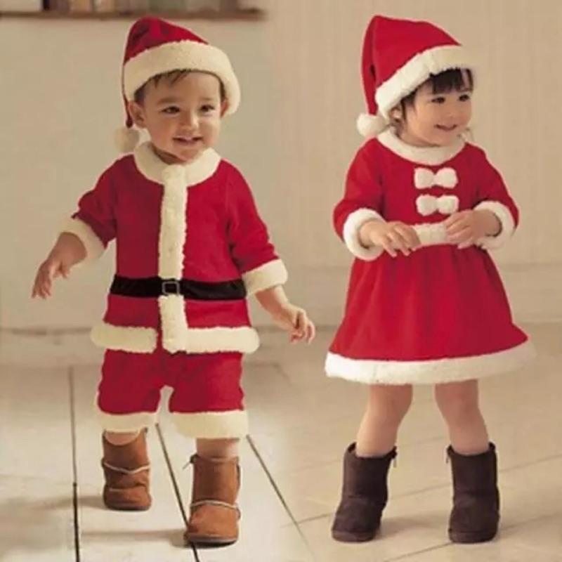 兒童演出服萬聖節表演服俏皮男女童聖誕服飾衣服裝表演聖誕節服飾
