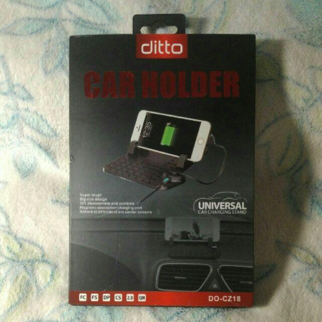ditto 磁吸充電線汽車防滑墊手機座支架立架車架iPhone 6S Plus Note