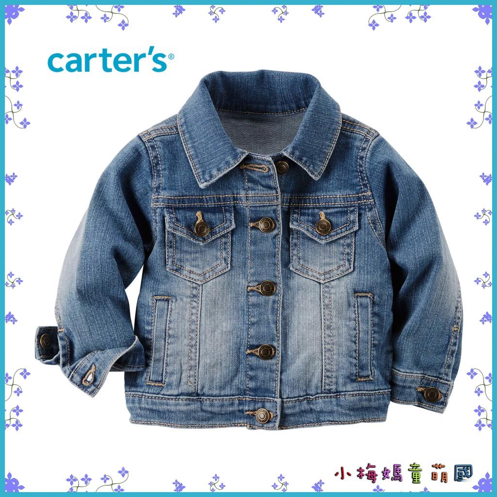正品 Carter s 男童牛仔外套夾克丹寧長袖美國 卡特Carters 2T 4T ~小