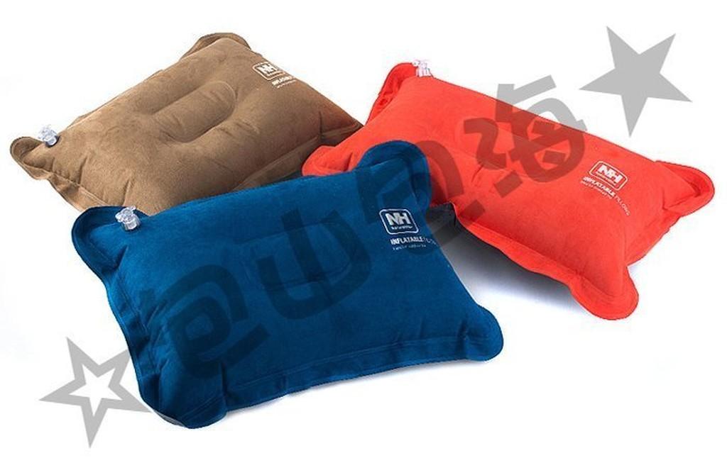 包山包海}戶外休閒登山露營旅遊旅行NatureHike 麂皮絨充氣枕頭舒適睡枕靠枕抱枕
