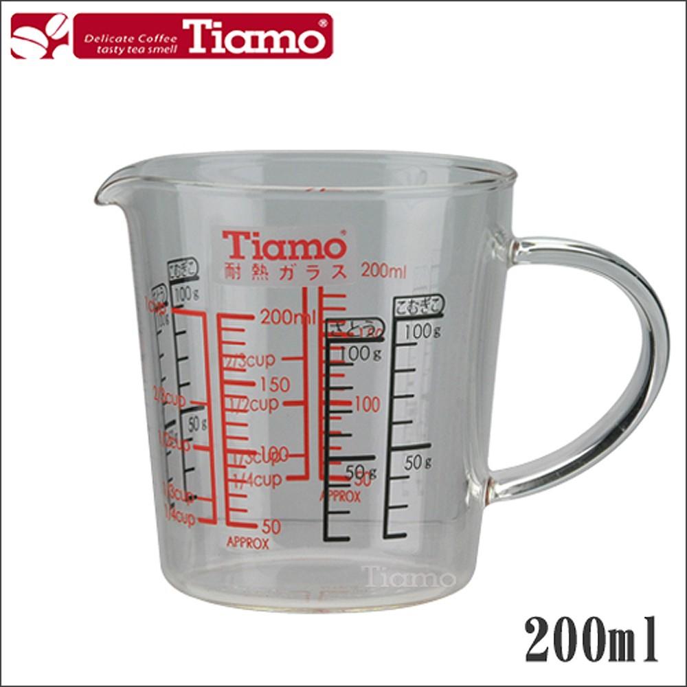 Tiamo 玻璃有柄量杯200ml