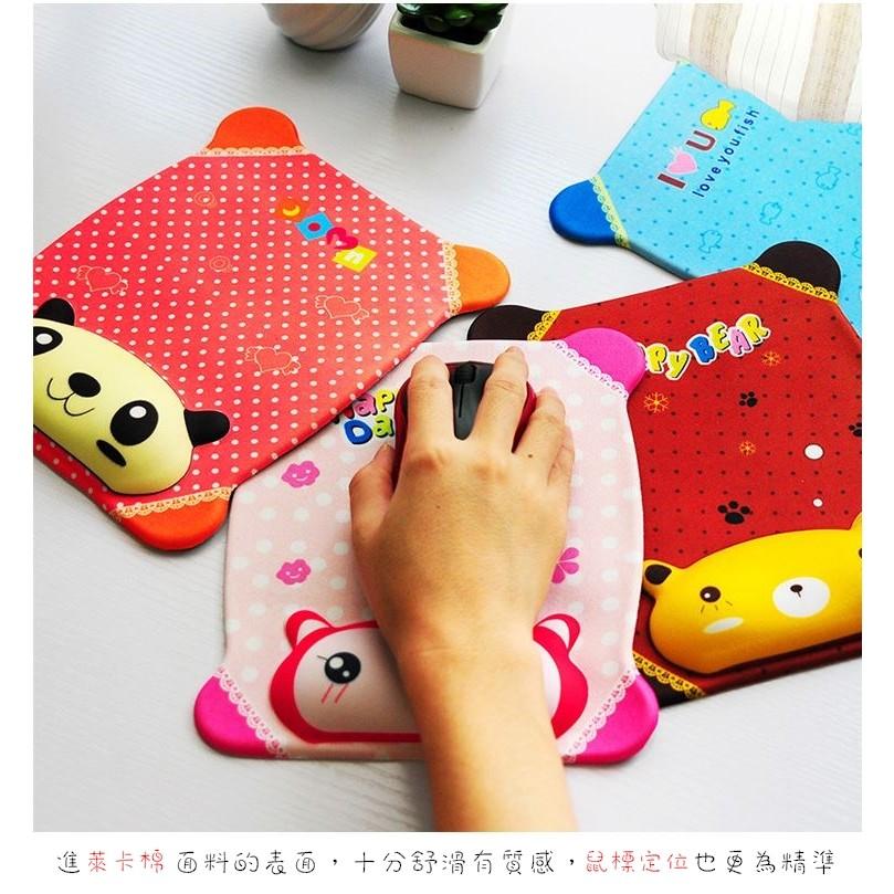 ~愛蘋果phone ~ 免等✅韓國卡哇伊 護腕手托矽膠滑鼠墊辦公室可愛小物紓解手部壓力