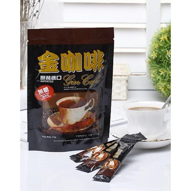 無糖人參金咖啡 黃金比例的調配,是無糖族最愛及強力 無糖金咖啡