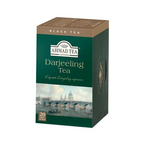 ~GT 快易網~AHMAD TEA 英國亞曼大吉嶺紅茶20 茶包盒附發票年終 至1 31