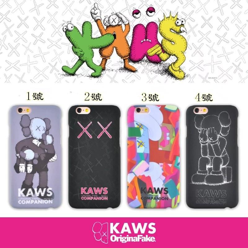 潮牌Kaws 和U 家聯名合作版衣服同款磨砂超薄硬殼防滑防滑小丑iPhone6s 手機殼6