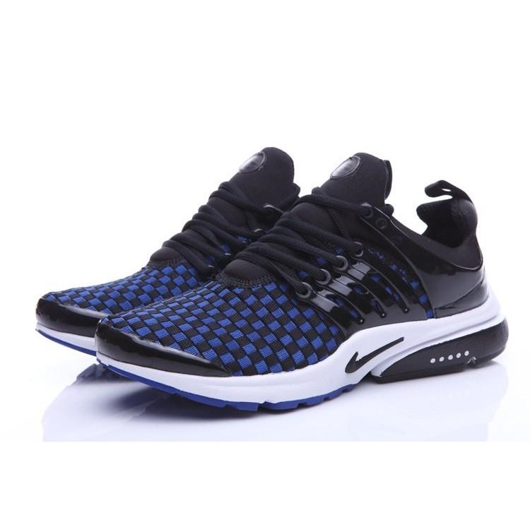 正品Nike Air Presto QS OG Retro 飛線 鞋休閒鞋慢跑鞋男鞋藍黑