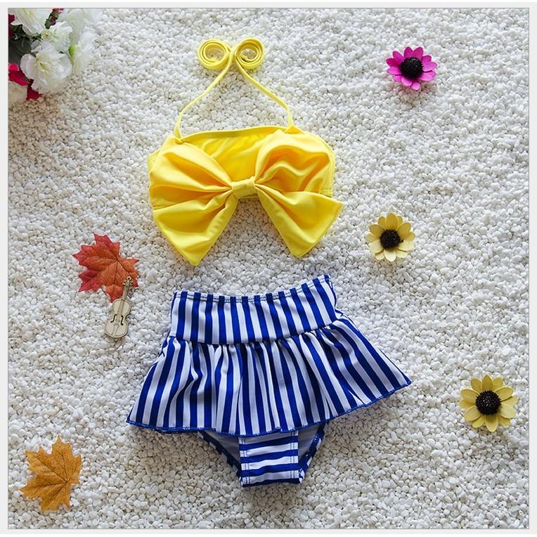 女童女寶寶小童兒童泳裝泳衣泳褲比基尼溫泉泡湯沙灘可愛游泳衣