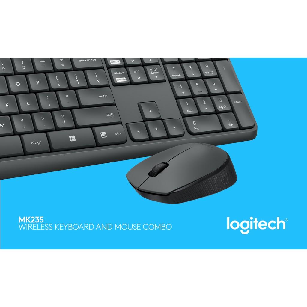 ~酷3C ~限宅配Logitech 羅技MK235 無線滑鼠鍵盤組防潑濺防褪色560