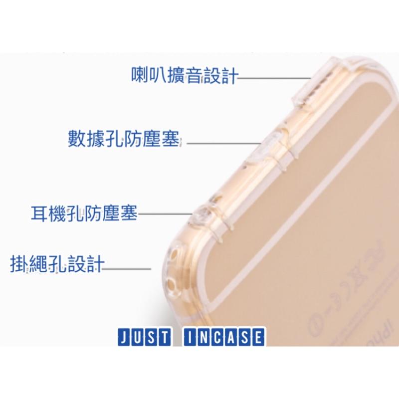 透明手機殼(耳機防塵塞、數據孔防塵塞、掛繩孔 、喇叭擴音 )