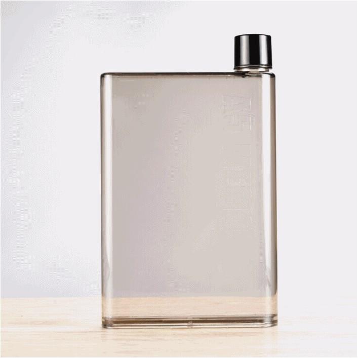 小綿羊~A5 小水杯~memobottle 紙張 水杯書本水壺攜帶式扁平 隨行杯隨手瓶檸檬