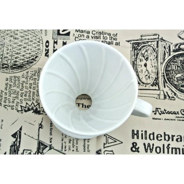 V 型手沖陶瓷圓錐咖啡過濾杯02 型2 ~4 杯~HARIO V60 VDC 02 ,VD