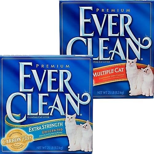 美國~EverClean ~EVER 超強除臭結塊貓砂1 盒25LB 無法超取