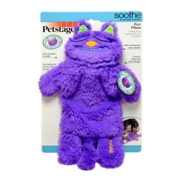 送貓罐頭美國Petstages 打呼貓會發出呼嚕呼嚕叫聲喵星人療癒系陪伴玩具350