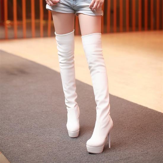 女式長靴 高跟騎士靴高筒女靴性感瘦腿過膝靴高跟鞋單鞋豆豆鞋涼鞋懶人鞋厚底鞋工作鞋松糕鞋休閒