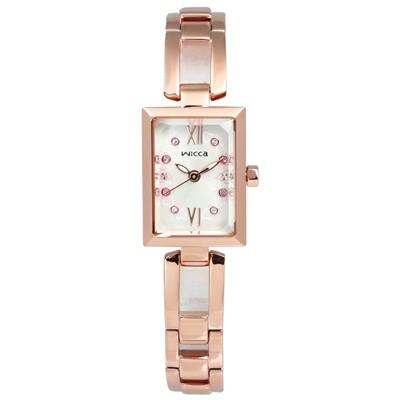 ~WICCA ~CITIZEN 星辰陳意涵代言少女方型手環 腕錶BE1 020 21