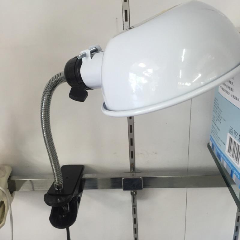 復古鐵皮夾燈