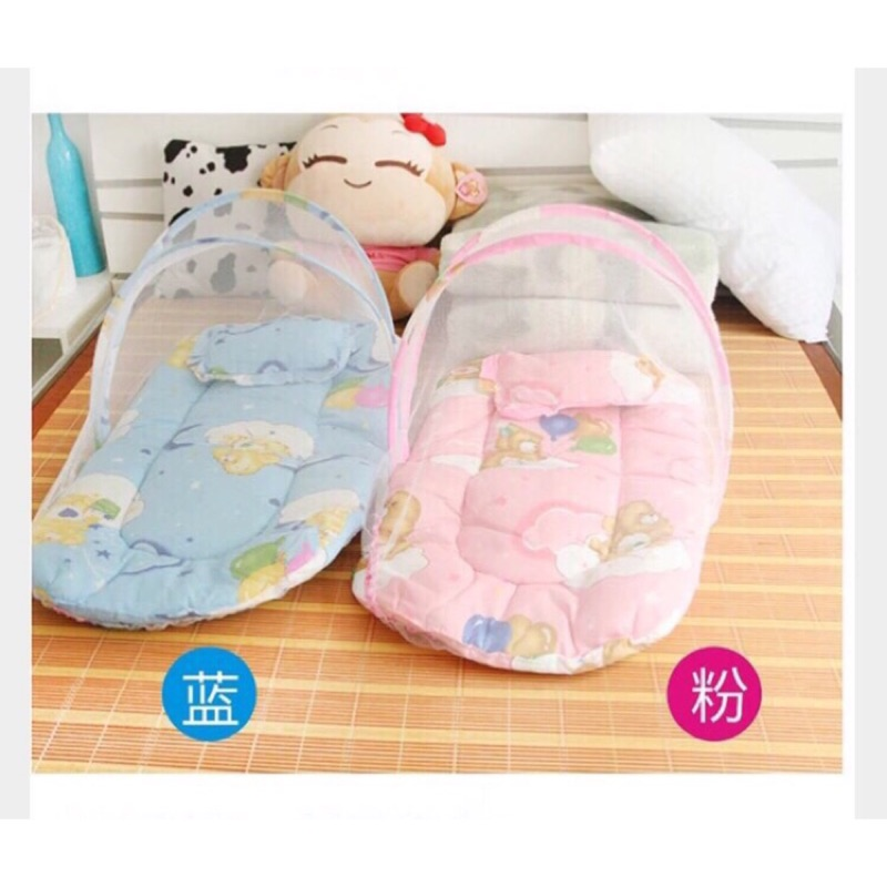 ,當天寄出❤️嬰兒蚊帳睡墊可折疊