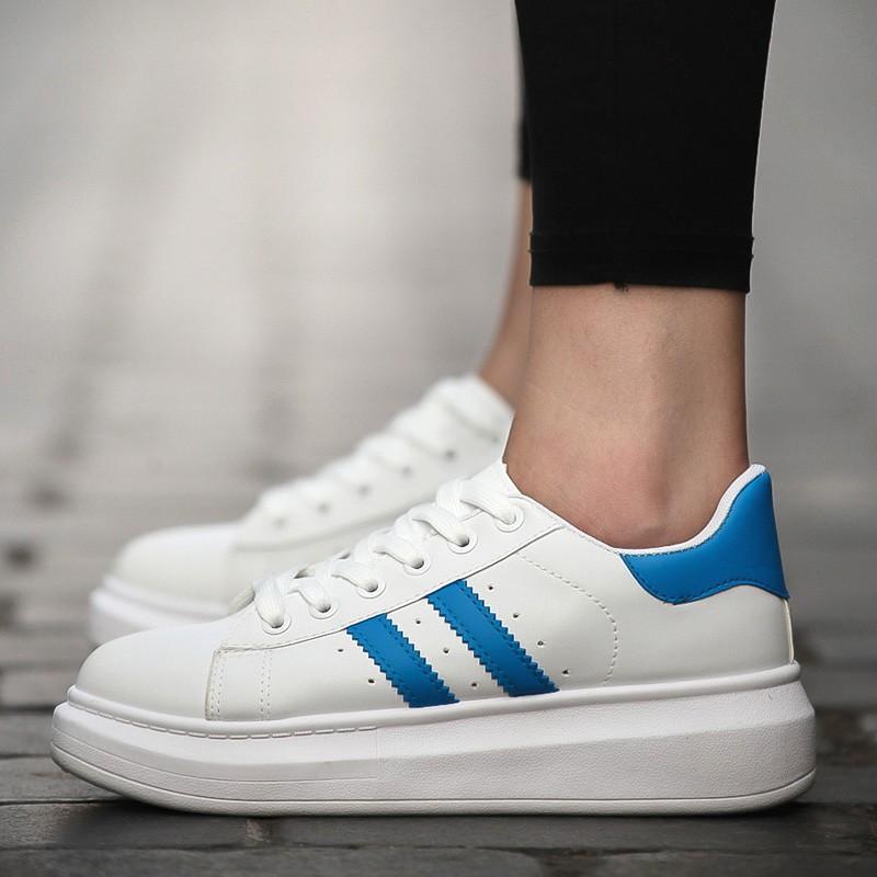 松糕情侶鞋 潮流板鞋男女 鞋子厚底增高男士小白鞋